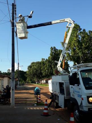 A primeira cidade do Tocantins à aderir em maior quantidade às lampadas de LED, está dando oque falar no Estado e no Município.
