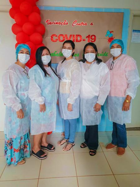 Equipe de Imunização.