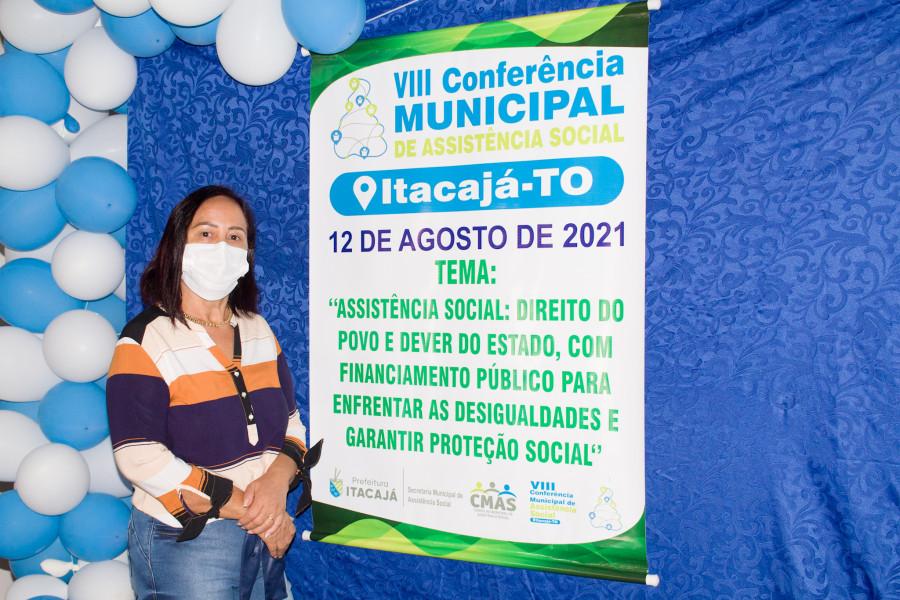 Prefeita Maria Aparecida participa da 8ª Conferência Municipal de Assistência Social
